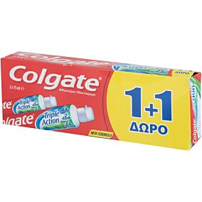 Οδοντόκρεμα COLGATE triple action (75ml)