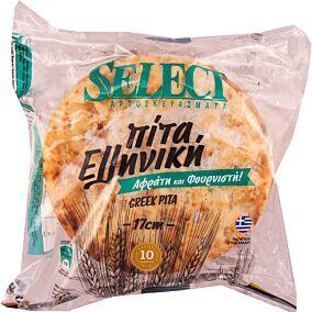 Πίτα SELECT φουρνιστή κατεψυγμένη 17cm (10τεμ.)