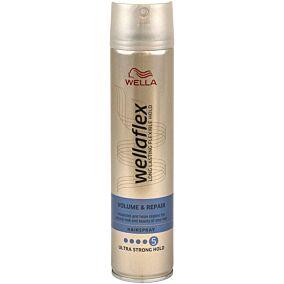 Spray μαλλιών WELLAFLEX για όγκο και επανόρθωση (250ml)