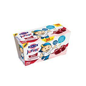 Γιαούρτι επιδόρπιο JUNIOR με γεύση κεράσι -0,30€ (2x140g)