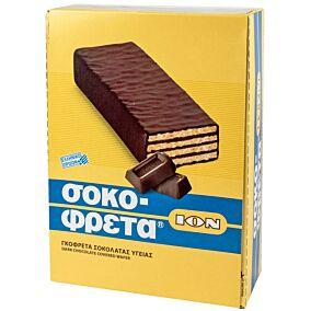 Γκοφρέτα ΙΟΝ σοκοφρέτα με σοκολάτα υγείας (38g)