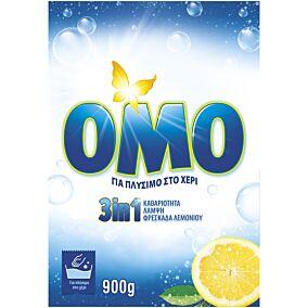 Απορρυπαντικό OMO 3 σε 1 για πλύσιμο στο χέρι (900g)