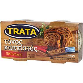 Κονσέρβα TRATA τόνος καπνιστός πικάντικος (2x160g)