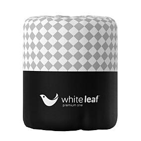 Χαρτί υγείας WHITE LEAF Premium One γκοφρέ 2 φύλλων με περιτύλιγμα (86g)