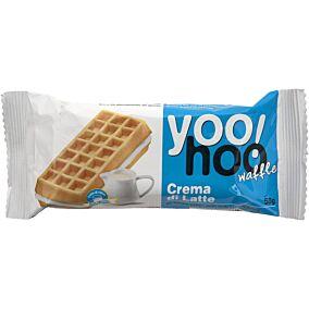 Βάφλα YOO HOO κρέμα γάλακτος (50g)