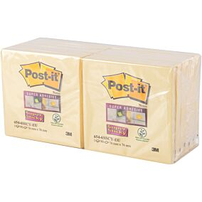 Αυτοκόλλητα χαρτάκια Post-it super sticky 90φύλλων (12τεμ.)