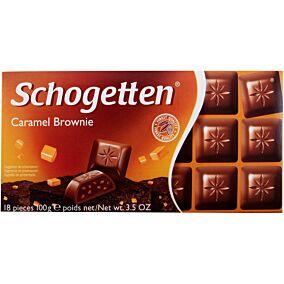 Σοκολάτα SCHOGETTEN caramel brownie (100g)