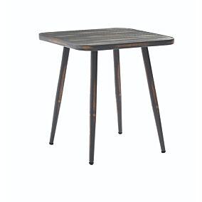 Τραπέζι RESORT LINE αλουμινίου γκρι 75x75x76cm