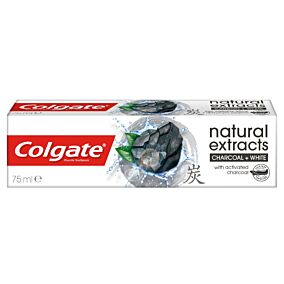 Οδοντόκρεμα COLGATE natural extracts charcoal (75ml)
