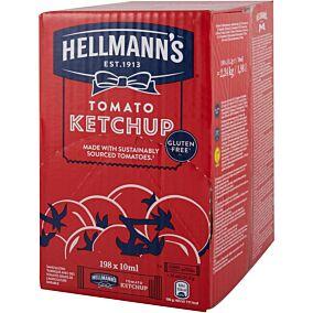 Κέτσαπ HELLMANN'S σε μερίδες (198x10ml)