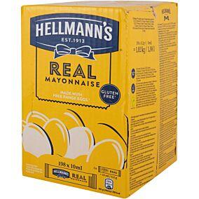 Μαγιονέζα HELLMANN'S σε μερίδες (198x10ml)