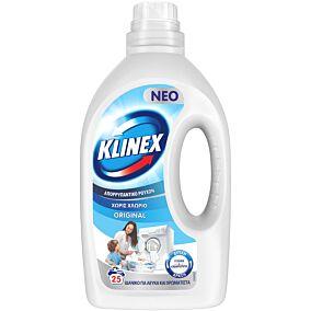 Απορρυπαντικό KLINEX πλυντηρίου ρούχων, υγρό (25μεζ.)