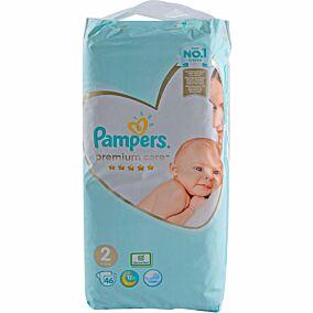 Πάνες PAMPERS Premium Care No.2, 3-6kg (46τεμ.)