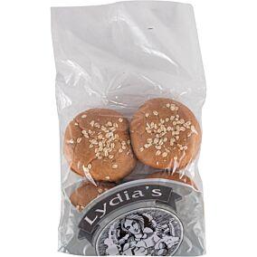 Ψωμί LYDIA'S για μπέργκερ ολικής άλεσης (4x90g)