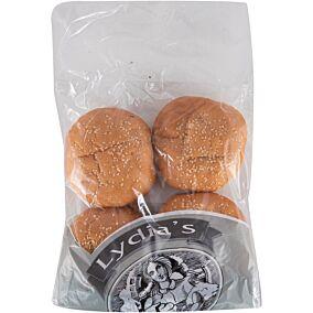 Ψωμί LYDIA'S για μπέργκερ με σουσάμι (4x90g)