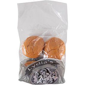 Ψωμί LYDIA'S για μπέργκερ bioche (4x90g)