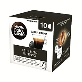 Καφές NESCAFÉ Dolce gusto espresso intenso σε κάψουλες 10τεμ. (70g)