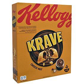 Δημητριακά KELLOGG'S krave chocolate hazelnut (375g)