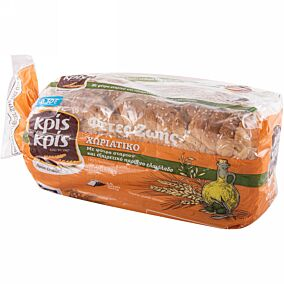 Ψωμί ΚΡΙΣ ΚΡΙΣ φέτες ζωής τοστ χωριάτικο -0,30 € (500g)