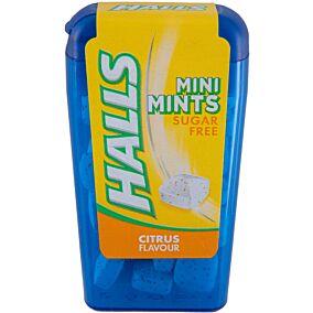 Καραμέλες HALLS mini mints (12,5g)