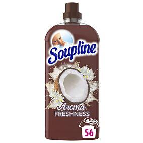 Μαλακτικό SOUPLINE complete care με άρωμα από καρύδα και λευκά άνθη συμπυκνωμένο (56μεζ.)
