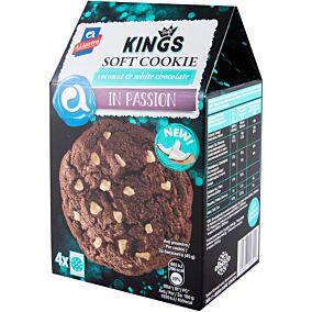 Μπισκότα ΑΛΛΑΤΙΝΗ KINGS SOFT με καρύδα και λευκή σοκολάτα (180g)