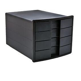 Συρταριέρα HAN 4 θηκών μαύρη