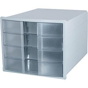 Συρταριέρα HAN 4 θηκών γκρι