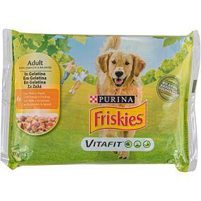 Τροφή FRISKIES Σκύλου με κοτόπουλο (4x100g)
