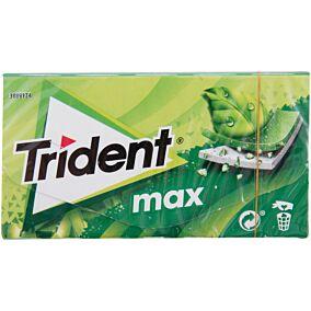 Τσίχλες TRIDENT Max δυόσμος (27g)