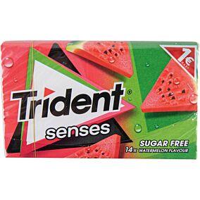 Τσίχλες TRIDENT senses καρπούζι (12x27g)