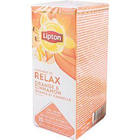 Αφέψημα LIPTON με πορτοκάλι και κανέλα (25x40g)