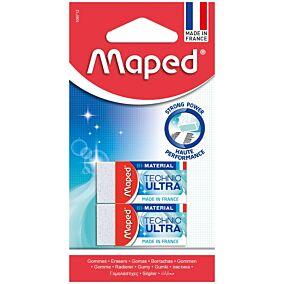 Γόμα MAPED λευκή mini (2τεμ.)