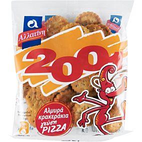 Μπισκότα ΑΛΛΑΤΙΝΗ αλμυρά με γεύση pizza (40g)