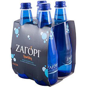 Νερό ΖΑΓΟΡΙ φυσικό μεταλλικό ανθρακούχο (4x330ml)