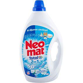 Απορρυπαντικό NEOMAT 2 σε 1 αέρινη φρεσκάδα πλυντηρίου ρούχων, σε gel (42μεζ.)