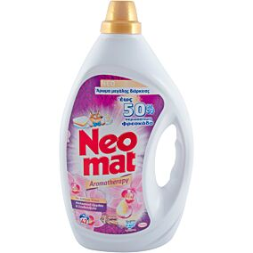 Απορρυπαντικό NEOMAT Μαλαισιανή φρεσκάδα πλυντηρίου ρούχων, σε gel (42μεζ.)