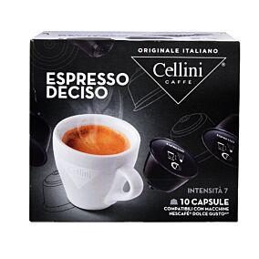 Καφές CELLINI Dolce gusto espresso deciso σε κάψουλες 10τεμ. (75g)