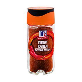 Πιπέρι καγιέν MCCORMICK καυτερή πιπεριά (11g)