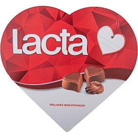 Σοκολατάκια LACTA με πραλίνα φουντουκιού (165g)