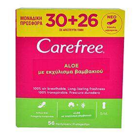 Σερβιετάκια CAREFREE flexif fresh 30+26 ΔΩΡΟ (56τεμ.)