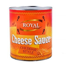 Κονσέρβα ROYAL Cheddar cheese sause (3kg)