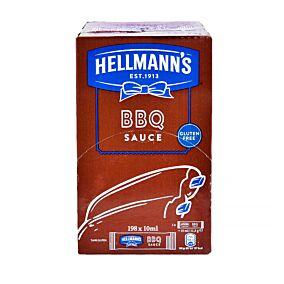 Σάλτσα HELLMANN'S BBQ σε μερίδες (198x10ml)