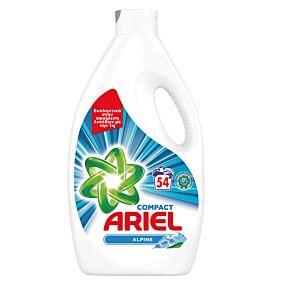 Απορρυπαντικό ARIEL Alpine πλυντηρίου ρούχων, υγρό (54μεζ.)
