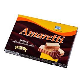 Γκοφρέτα AMARETTI σοκολάτα (68g)