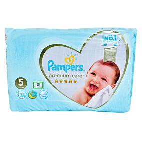 Πάνες PAMPERS premium care No.5 Jumbo (44τεμ.)