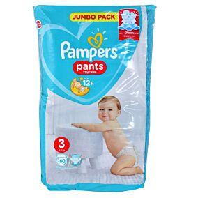 Πάνες PAMPERS Pants Jumbo No.3 (60τεμ.)