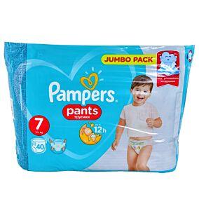 Πάνες PAMPERS Pants Jumbo No.7 (40τεμ.)