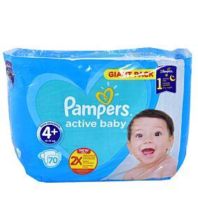 Πάνες PAMPERS Active Baby Giant No.4 (70τεμ.)