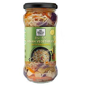 Ανάμεικτα ασιατικά λαχανικά ΟΕ με ανάνα (330g)